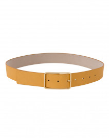 Milla Mustard Yellow Leather Belt