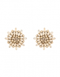 Stella Champagne Crystal Earrings