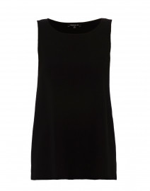 Ruthie Black Silk Tunic Tank