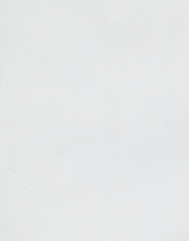 Piazza Sempione - Audrey White Stretch Cotton Capri Pant