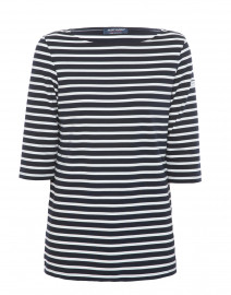 Phare Navy and White Striped Shirt
