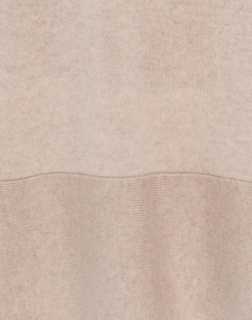 Cortland Park - Saint Tropez Beige Cashmere Swing Sweater
