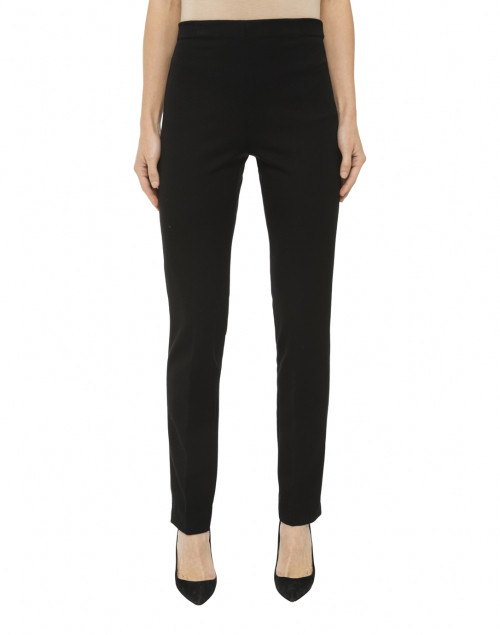 Fabrizio Gianni - Black Stretch Side-Zip Tapered Pant