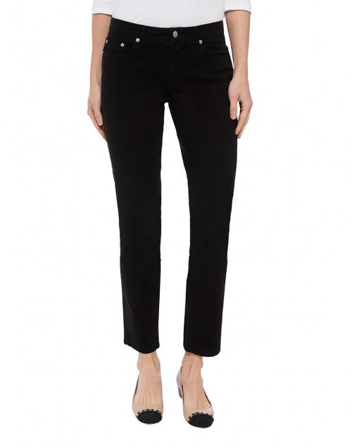Fabrizio Gianni - Black Stretch Cotton Twill Jeans