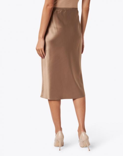 Joseph - Isaak Taupe Silk Satin Skirt