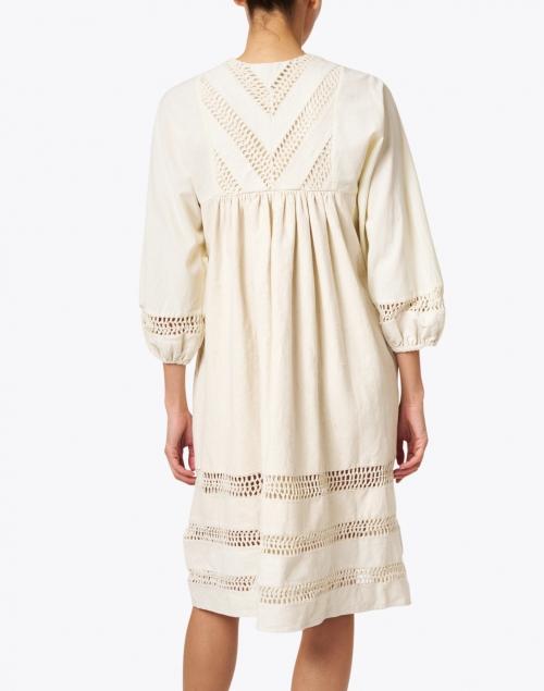 Warm - Cowerie Ivory Crochet Cotton Dress
