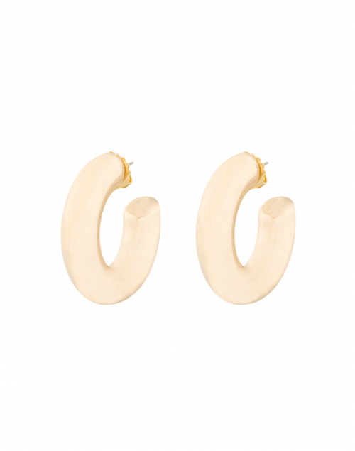 Janis by Janis Savitt - High Polished Gold Hoop Earrings
