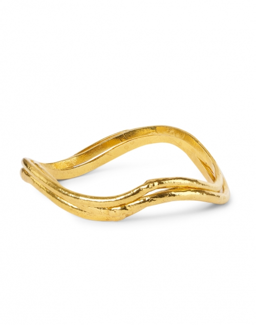 Sylvia Toledano - Flow Gold Set of Three Bangles