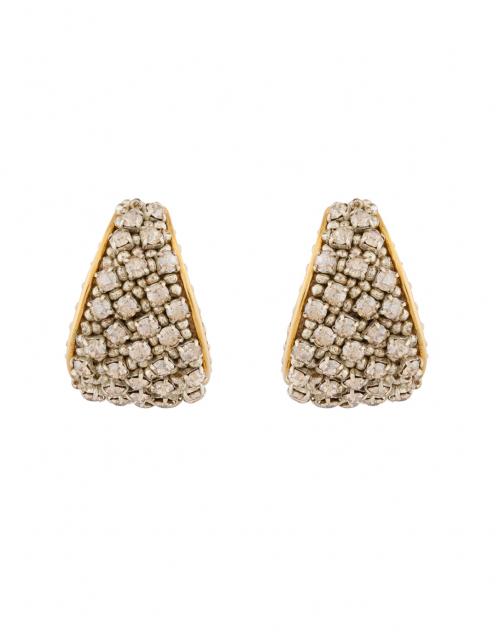 Mignonne Gavigan - Kaya Gold Crystal Huggie Hoop Earrings