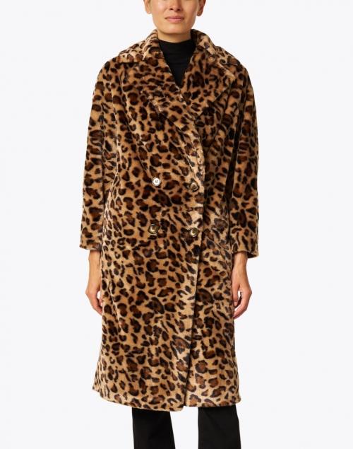 Helene Berman - Leopard Faux Fur Coat