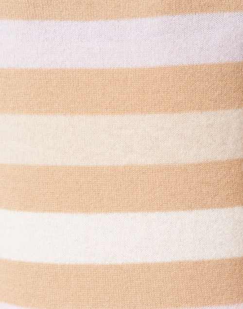 White + Warren - Multi Stripe Cashmere Sweater
