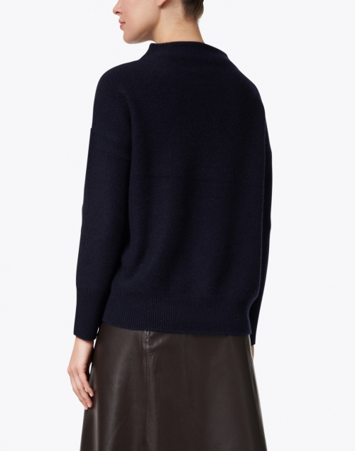 Vince - Navy Boiled Cashmere Sweater
