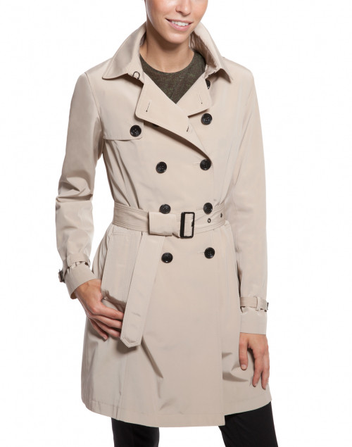 Jane Post - Stone Zip-Out Liner Trench Coat
