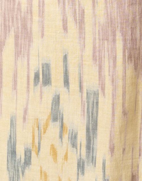 D'Ascoli - Mandalay Blue Print Cotton Dress