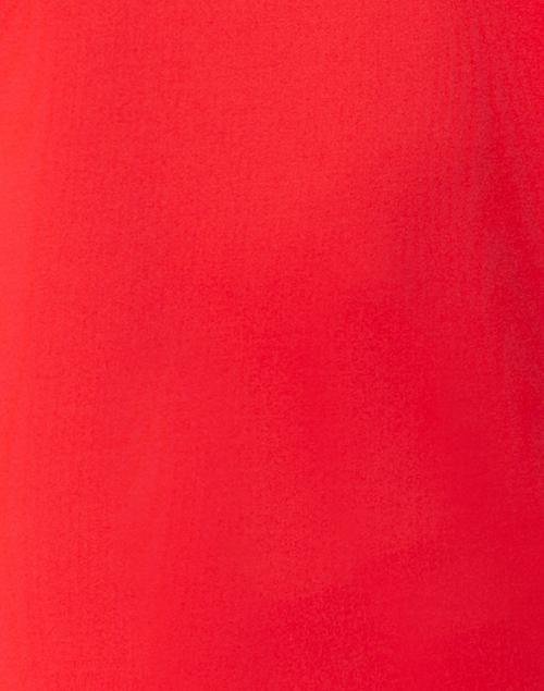 Gretchen Scott - Red Ruffle Neck Top