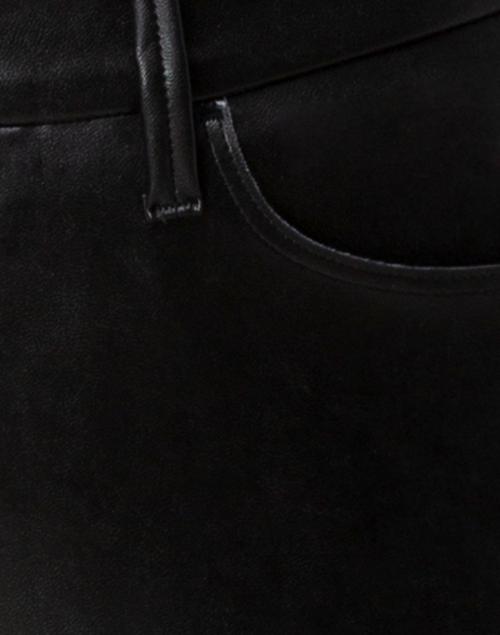 Cambio - Ray Black Vegan Leather Pant