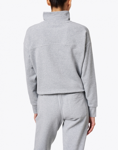Vince - Heather Grey French Terry Pullover