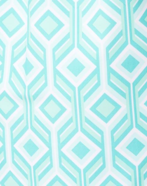 Jude Connally - Ella Seafoam Geometric Printed Dress