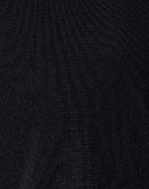 TSE Cashmere - Black Silk Cashmere Rib Cardigan
