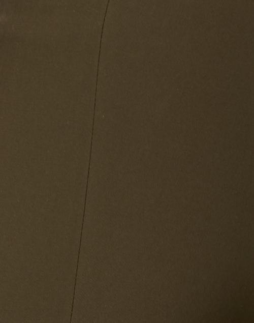 Vince - Dark Brown Stretch Cotton Pant