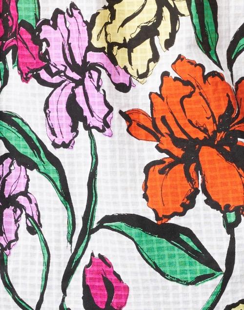 Roller Rabbit - Lucy Jorales Floral Print Cotton Top