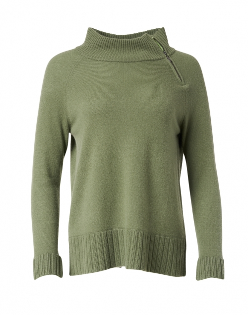 Lisa Todd The Insider Green Cashmere Sweater