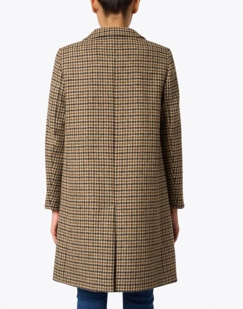 Weekend Max Mara - Davy Hazelnut Houndstooth Virgin Wool Jacket