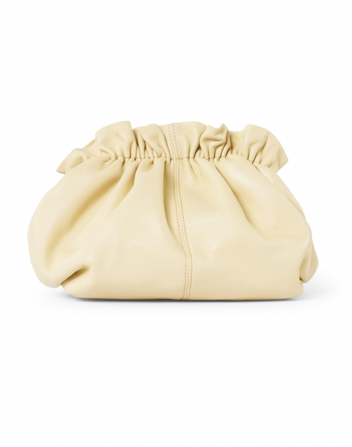 Loeffler Randall - Willa Almond Leather Cinched Clutch with Chain