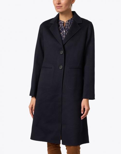 TSE Cashmere - Navy Double Face Cashmere Coat