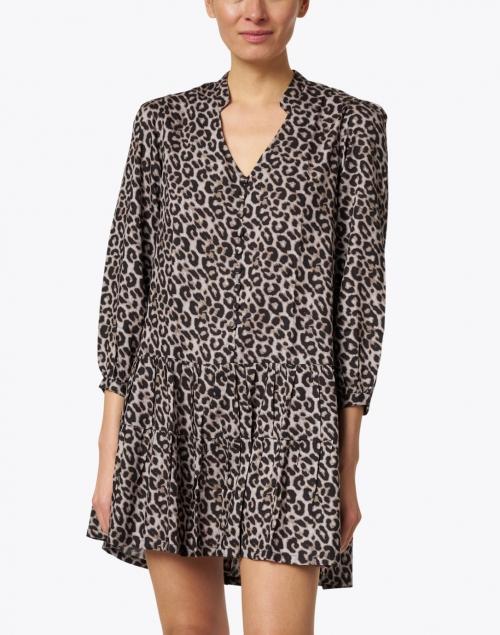 Walker & Wade - Parker Grey Leopard Print Dress