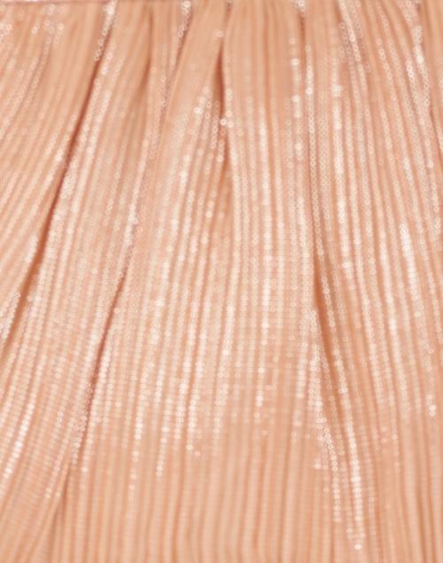 Loeffler Randall - Rayne Peach Pleated Lame Bow Clutch