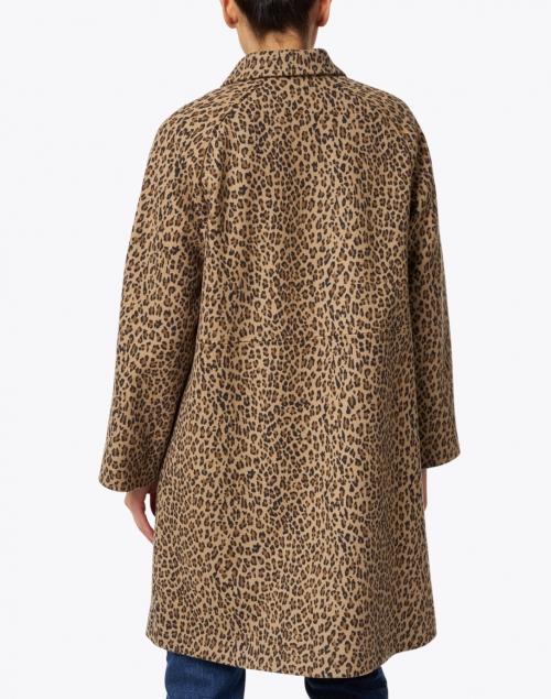 A.P.C. - Alice Camel Leopard Printed Overcoat