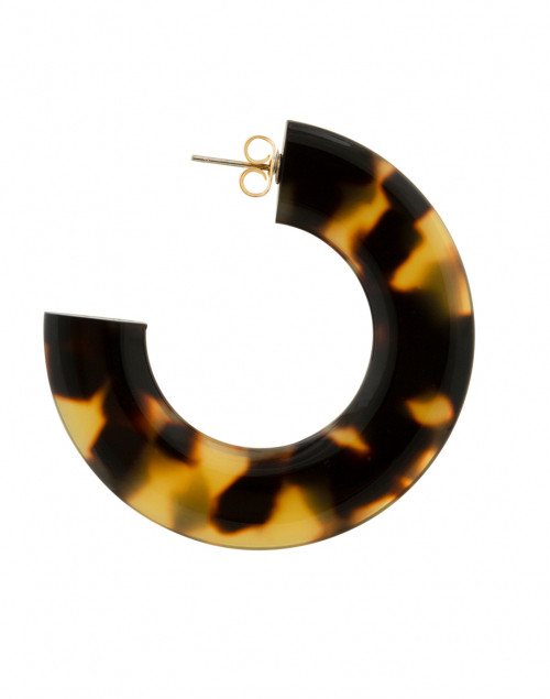 Pono by Joan Goodman - Gia Tortoise Resin Hoop Earrings
