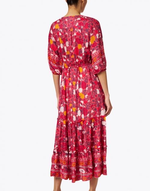 Walker & Wade - Carrie Cherry Red Printed Midi Dress