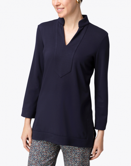 Jude Connally - Chris Navy Ponte Tunic