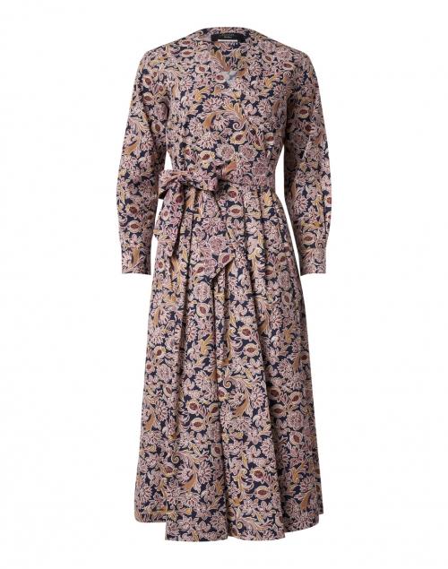Weekend Max Mara Feltre Antique Rose Paisley Cotton Dress