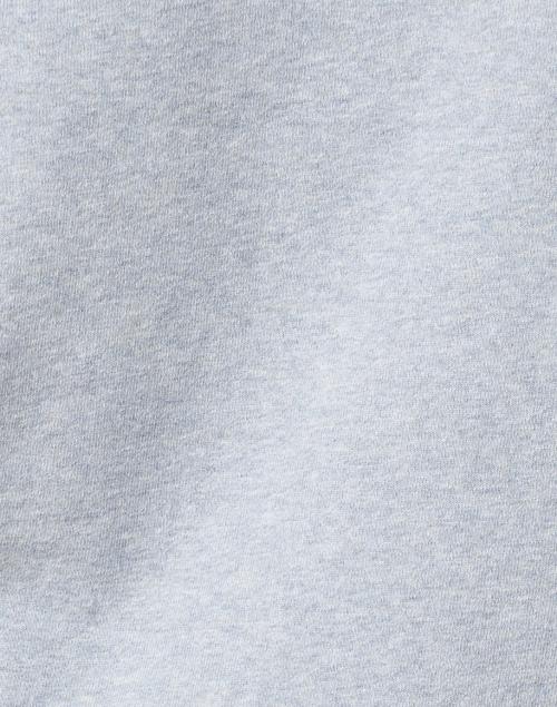 Vince - Light Blue Cotton Half Zip Pullover