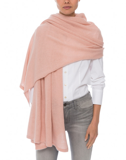 Minnie Rose - Blush Pink Cashmere Travel Wrap