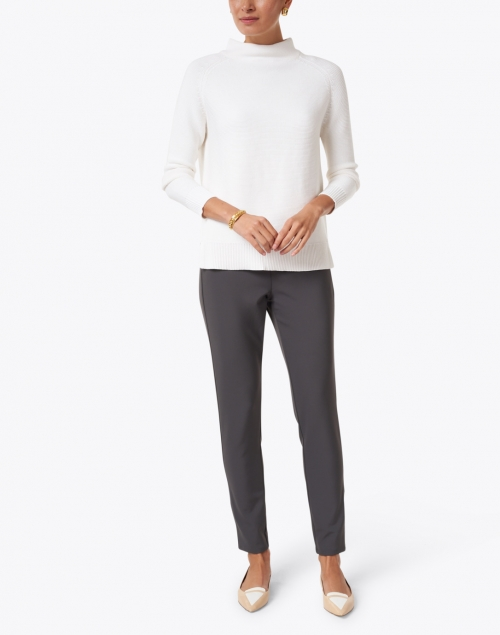 Lafayette 148 New York - Mercer Grey Stretch Pant