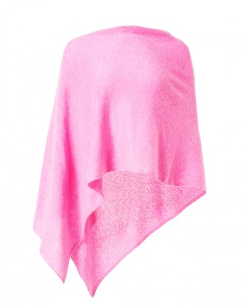 Minnie Rose Think Pink Cashmere Ruana