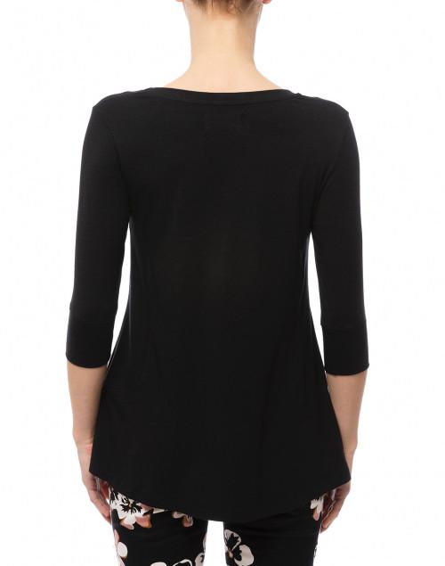 Southcott - Black Cotton Bamboo Jersey Tunic