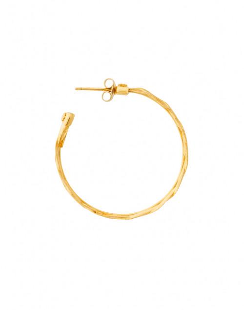 Gas Bijoux - Gold Braided Hoops