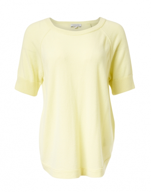 Kinross - Citrus Yellow Cashmere Sweater