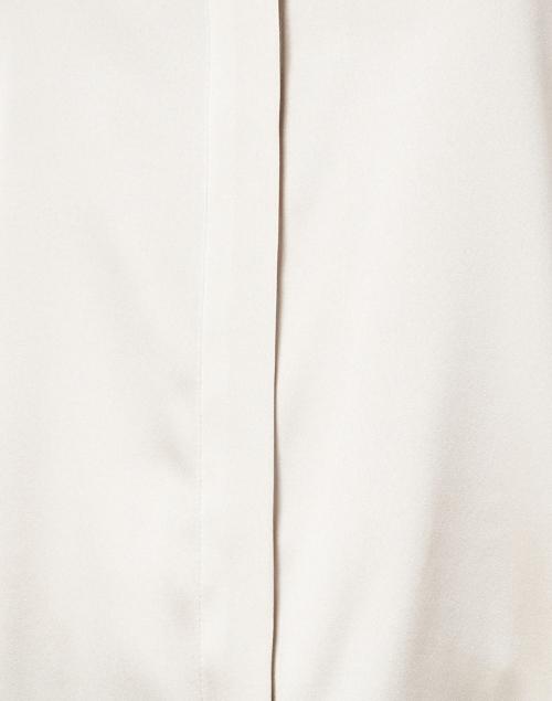 Max Mara Studio - Mosella Beige Stretch Silk Blouse