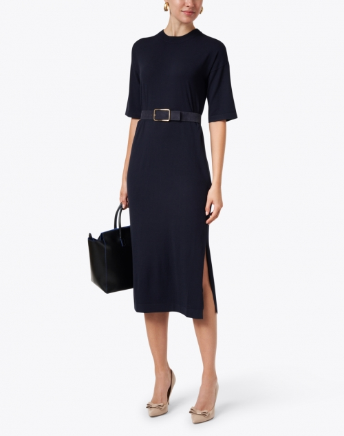 Weekend Max Mara - Onda Navy Knit Dress