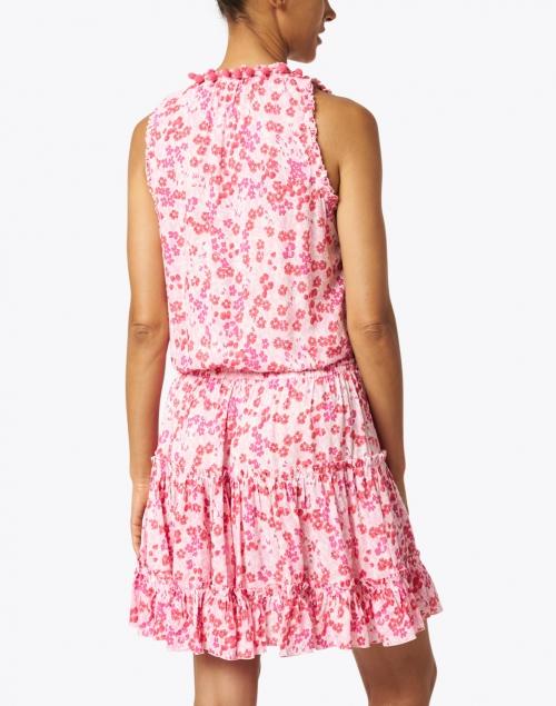 Poupette St Barth - Clara Pink Daffodil Floral Dress