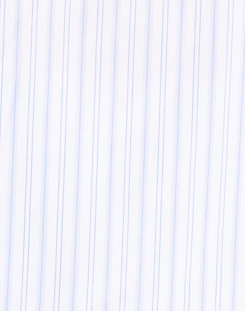 Dovima Paris - Wren Blue Variated Stripe Cotton Shirt