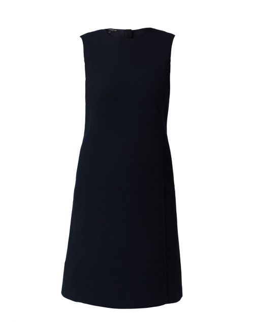 Lafayette 148 New York - Polly Ink Navy Crepe Dress