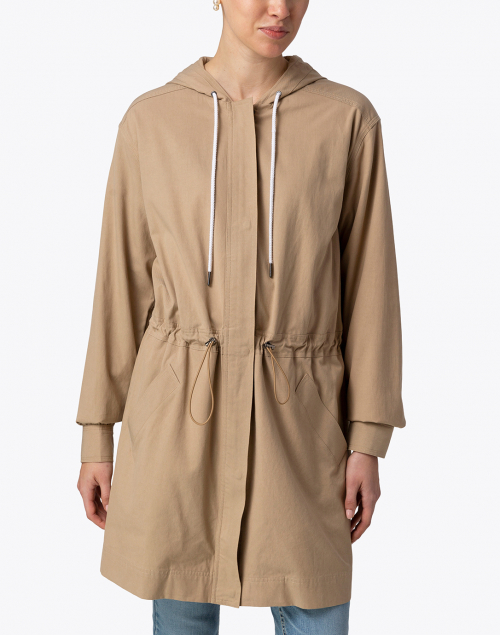 Brochu Walker - Prato Beige Hooded Jacket