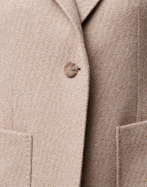 Max Mara Studio - Blasone Light Camel Wool Cashmer Blazer